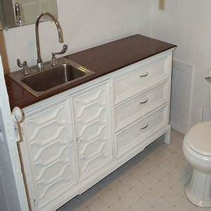 17 best images about dresser converted to vanity on With old dresser made into bathroom vanity