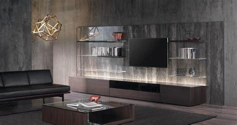 canapé et noir meuble salon design en 23 idées hyper tendance