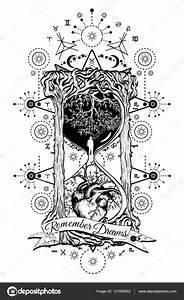 Tattoo Leben Und Tod : baum und herz in sanduhr symbol von leben und tod stockvektor intueri 131939452 ~ Frokenaadalensverden.com Haus und Dekorationen