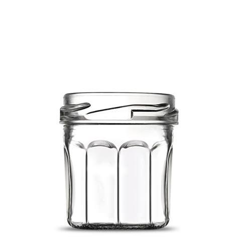mini pot en verre vide portion confiture 4 cl