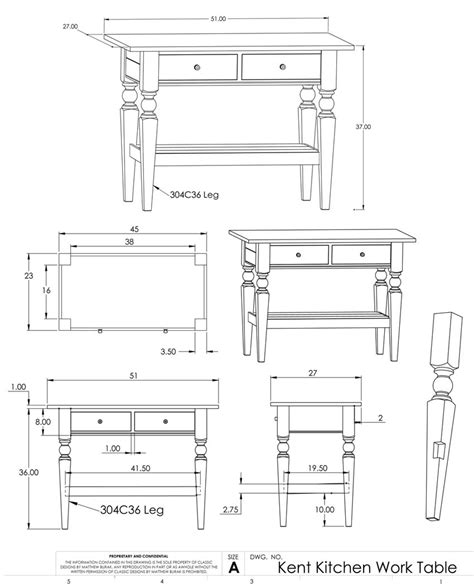 Kitchen Furniture Plans Woodwork Wood Furniture Plans Table Pdf Plans
