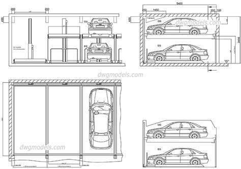 bloc cuisine autocad parking 4 dwg free cad blocks