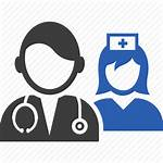 Clipart Icon Staff Hospital Clinic Cartoon Patient