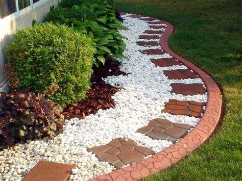 back yard landscape 6 excellent concrete flower bed