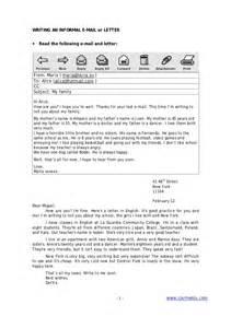 Informal Email