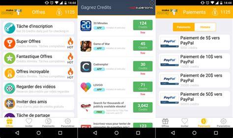 android money comment gagner de l argent et des cartes cadeaux