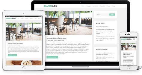 Shaped Blog Responsive Personal Theme