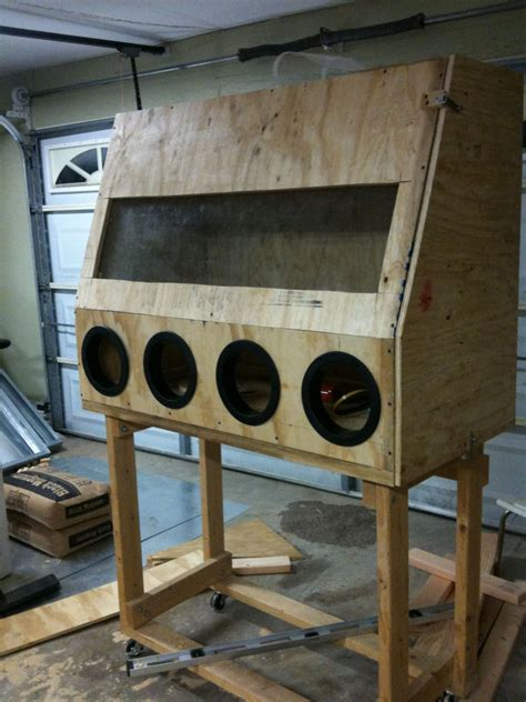 Diy Blast Cabinet Kit by How To Build A Sandblasting Cabinet Smecca