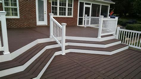 pool fence designs photos azek composite deck builder in frederick maryland