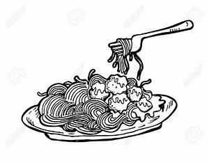 Clipart Spaghetti