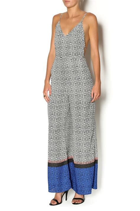 printed jumpsuits lush printed jumpsuit from miami by secret vanity shoptiques
