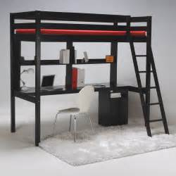 Lit Mezzanine Avec Bureau Intégré Ikea by Lit Mezzanine Bureau 233 Tag 232 Re Caisson Sommier 224 Lattes