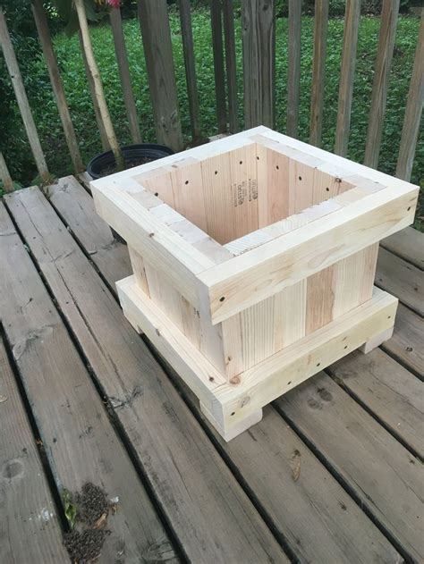 planter wood planters woodworking projects diy