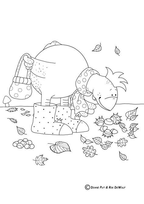 Kleurplaat We Hebben Er Een Geitje Bij by 48 Best Images About Herfst In De Bib Op
