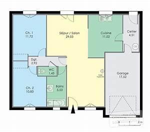 plans pour construire une maison plan de maison en u With un plan pour construire une maison