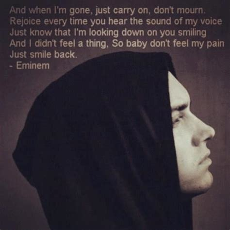 Eminem, Quotes, Sayings, Do Not Feel My Pain, Smile  Fav. Single Quotes In C. Quotes You Live By Reddit. Adventure Time Episode Quotes. Success Quotes Leadership. Boyfriend Quotes With Pictures. Country Kissing Quotes. Confidence Quotes For Runners. Great Depression Germany Quotes