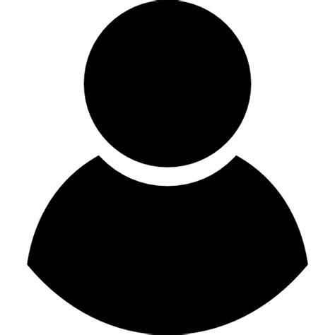 black user symbol free interface icons