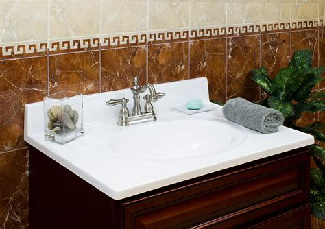 Lesscare > Bathroom > Vanity Tops > Cultured Marble