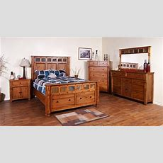 Rustic Oak Bedroom Set, Rustic Oak Bedroom Furniture Set