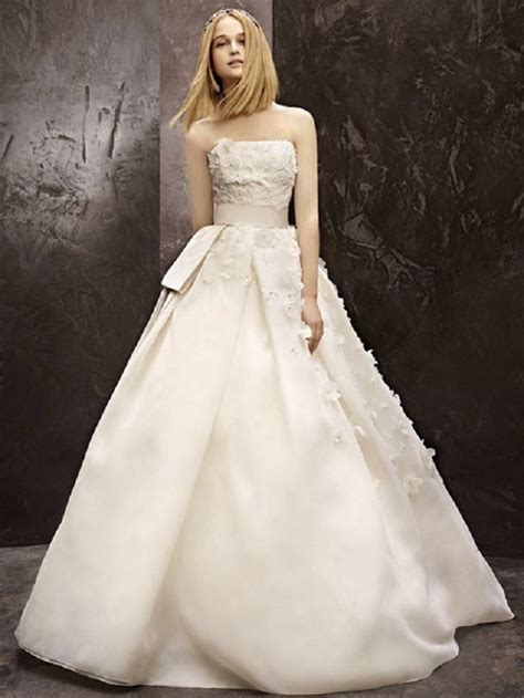 fall  white  vera wang collection