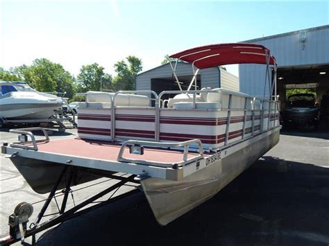 1990 Lowe Pontoon Boat For Sale by 1990 Lowe Boats Pontoon 24 Sunbird Cincinnati Oh For Sale