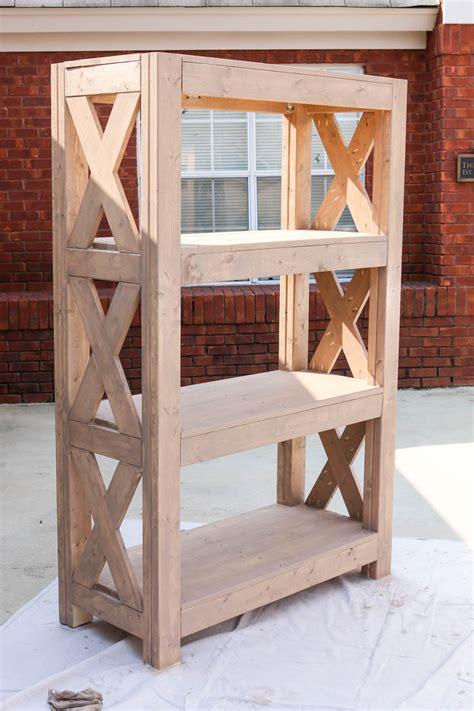rustik 2x4 dimensions diy bookshelf with strong tie 174
