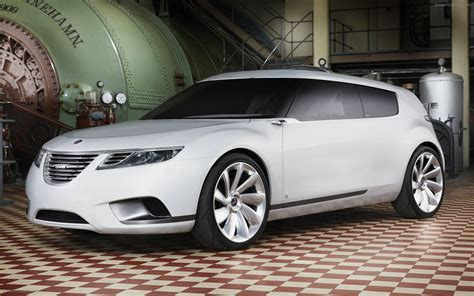Saab 9 X Biohybrid Concept Widescreen Exotic Car Photo 11