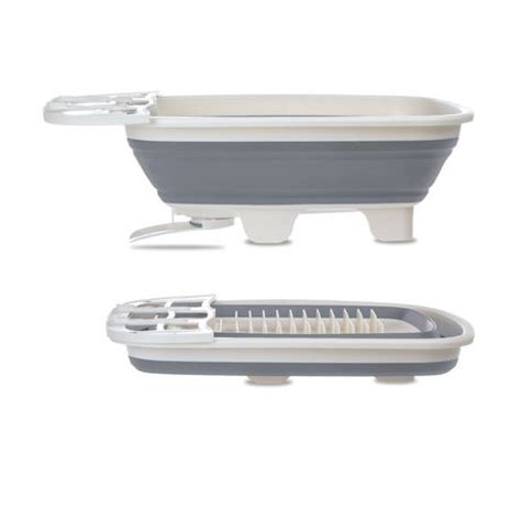 collapsible dish rack starfrit collapsible dish drainer walmart ca