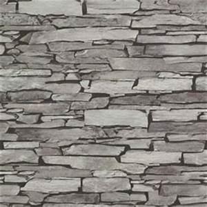 Papier Peint Pierre De Parement : fein papier peint pierre de parement expans plate grise castorama ~ Preciouscoupons.com Idées de Décoration