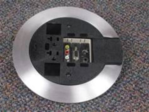 wiremold floor boxes poke thru extron electronics