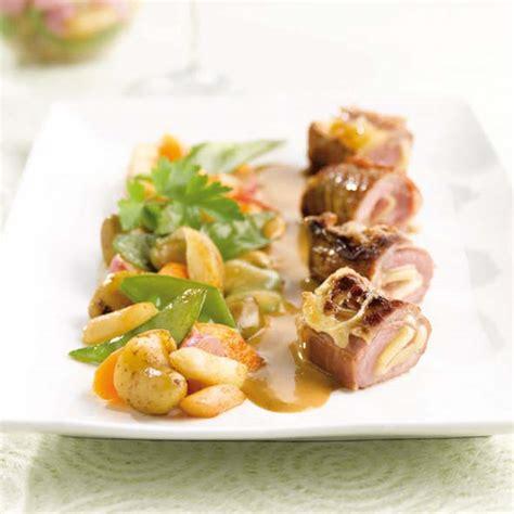 cuisiner pois gourmands saltimbocca de veau au comté légumes jus de truffe savoir