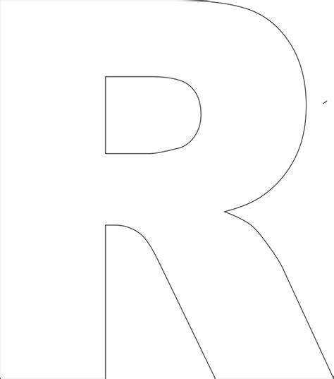 large letter templates printable letter