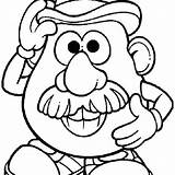 Potato Head Mr Pages Coloring Printable Clipart Kawaii Clipartmag Drawing Getdrawings Colouring Getcolorings Magnificent sketch template