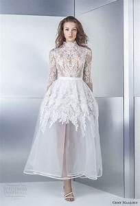 gemy maalouf 2017 wedding dresses wedding inspirasi With short wedding dresses 2017