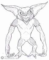 Gremlins Coloring Pages Bad Guy Getcolorings Gizmo Printable Pa Getdrawings sketch template