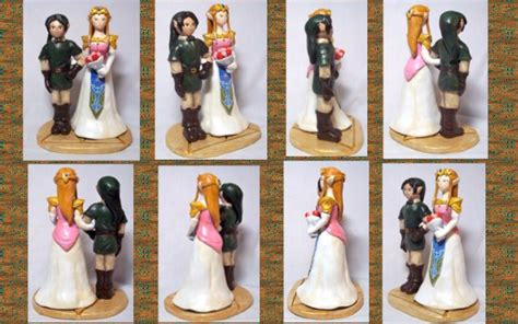 Legend Of Zelda Wedding Cake Topper