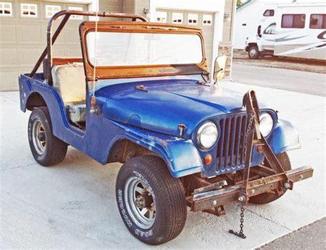 jeep kaiser cj5 buy used 1965 kaiser jeep cj5 4x4 in na idaho united
