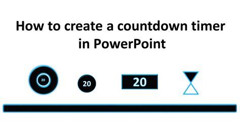 create countdown timer powerpoint tekhnologic
