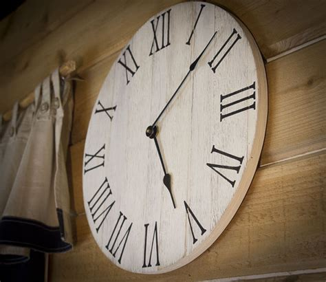 40580 farmhouse wall clock farmhouse wall clock rustic wall clock wall clock large