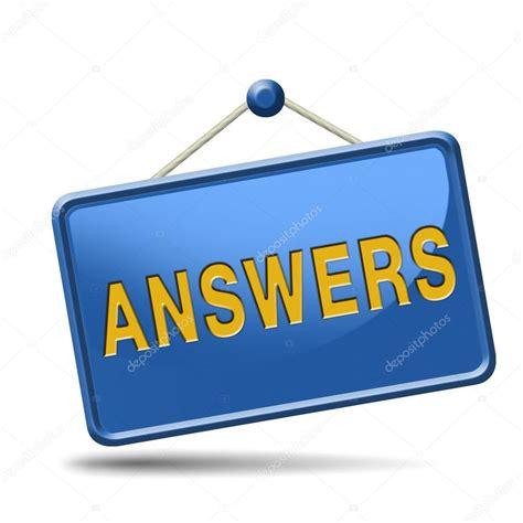Search Answers Icon — Stock Photo © Kikkerdirk #34372975