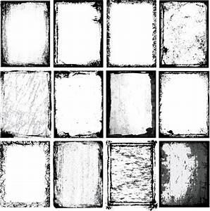 Vector black grunge frame free vector download (13,651 ...