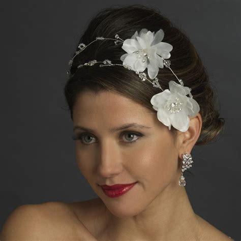 ideas  flower headpiece wedding  pinterest