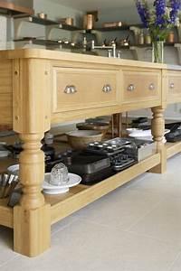 Ilot Cuisine Bois : cuisine en bois de design r tro moderne par artichoke ~ Teatrodelosmanantiales.com Idées de Décoration