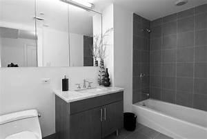 30 idees incroyables de salle de bain gris et blanc With salle de bains gris et blanc