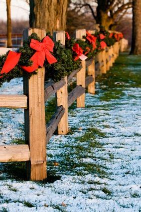 garland for decorating fences top 86 ideas about split rail fences on the splits country barns and post and rail