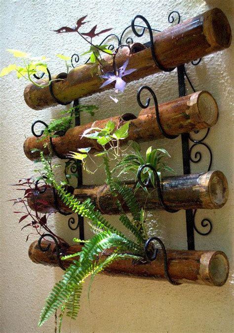 142 best bamboo images on pinterest outdoor gardens bamboo and. bamboo planters Wall art....fence art!! (mit Bildern) | Bambus garten, Bambus handwerk, Topfblumen