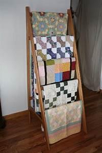 Quilt Rack Plans - WoodWorking Projects & Plans