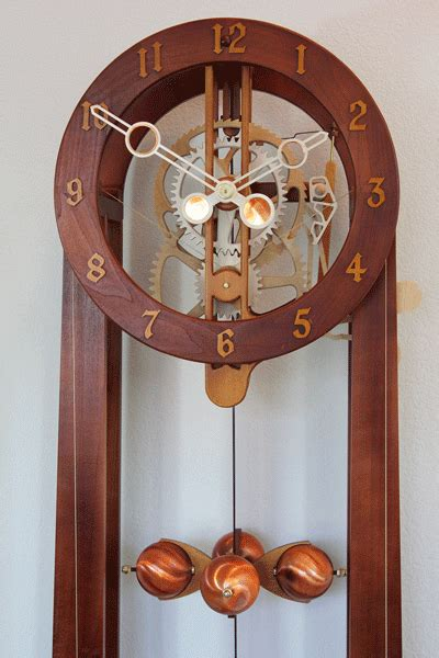 wooden gear clock plans  hawaii  clayton boyer woodworking pinterest wooden gear