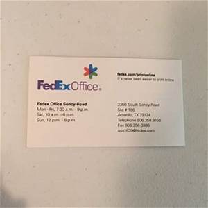 Fedex office print ship center 10 photos shipping for Kinkos business card