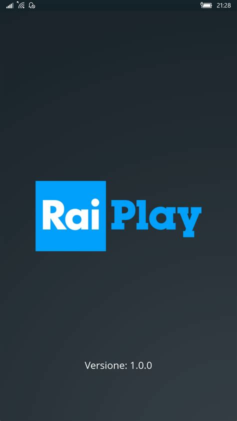 windows store for mobile app ufficiale raiplay per pc tablet e smartphone